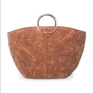 Suede bucket handbag from Who What Wear Collection